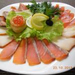 Ассорти рыбное маленькая тарелка