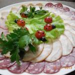 Ассорти мясное большая тарелка